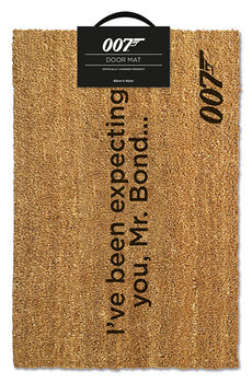 Doormat  James Bond - I've Been Expecting You