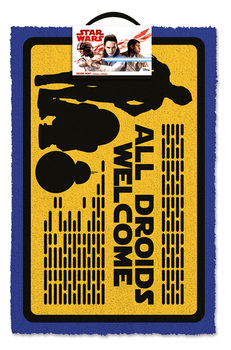 Doormat  Star Wars - All Droids Welcome