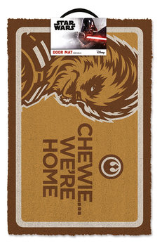 Doormat Star Wars - Chewe We're Home