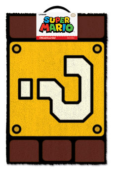 Doormat Super Mario - Question Mark Block