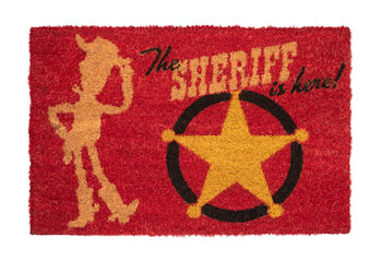 Doormat Toy Story - The Sheriff Is Here