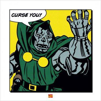 Dr. Doom - Curse You Reproduction d'art
