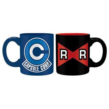 Caneca Dragon Ball - Capsule C vs R Ribbon
