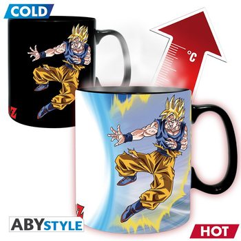 Mug Dragon Ball - Goku vs Buu