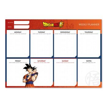Viikkokalenteri Dragon Ball