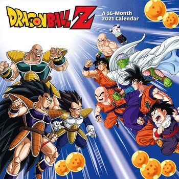 Calendar 2021 Dragon Ball Z