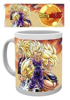Cup Dragon Ball Z - Super Saiyans
