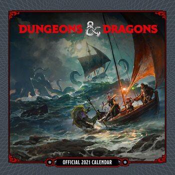 Calendar 2021 Dungeons & Dragons