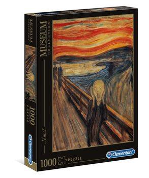 Puzzle Edvard Munch - L'Urlo