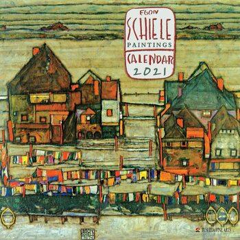 Calendar 2021 Egon Schiele - Paintings
