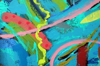 abstract 25 Taidejuliste