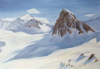 Alpine Shadows, 2000 Taidejuliste