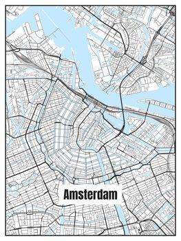 Kartta Amsterdam