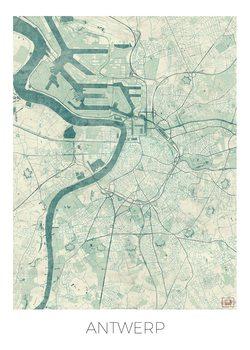 Kartta Antwerp
