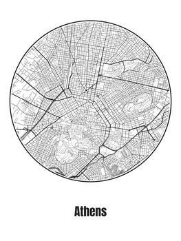 Kartta Athens