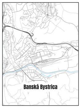Kartta Banská Bystrica