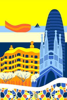 Barcelona Taidejuliste