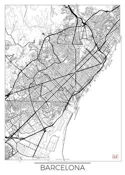 Kartta Barcelona