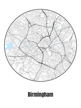 Kartta Birmingham