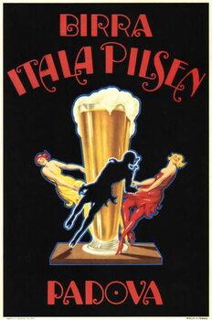 Birra Itala Pilsen Taidejuliste