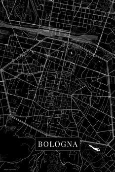 Kartta Bologna black