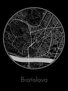 Kartta Bratislava