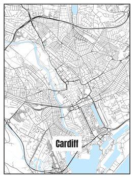 Kartta Cardiff
