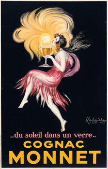 Cognac Monnet, 1927 Taidejuliste