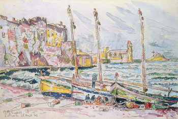 Collioure, 1929 Taidejuliste