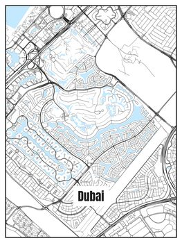 Kartta Dubai