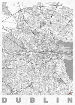 Kartta Dublin