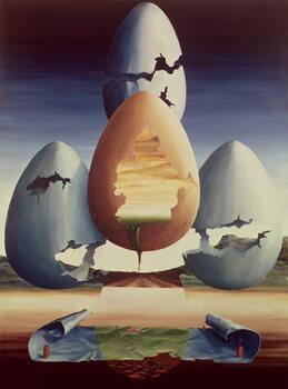Eggs, 1971 Taidejuliste