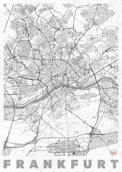 Kartta Frankfurt