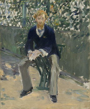 George Moore in the Artist's Garden, c.1879 Taidejuliste