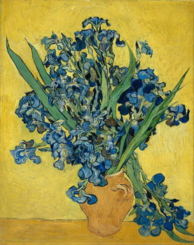Irises, 1890 Taidejuliste