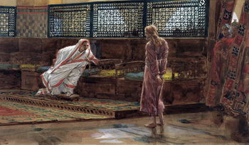 Jesus for the First Time before Pilate, illustration for 'The Life of Christ', c.1886-94 Taidejuliste