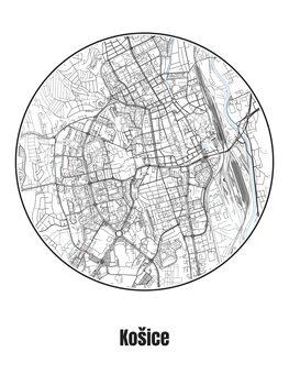 Kartta Košice
