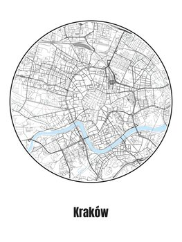 Kartta Kraków
