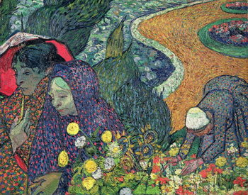 Ladies of Arles (Memories of the Garden at Etten), 1888 Taidejuliste