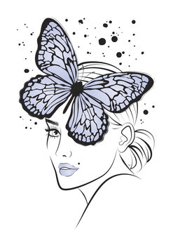 Kuva Lady Butterfly Blue