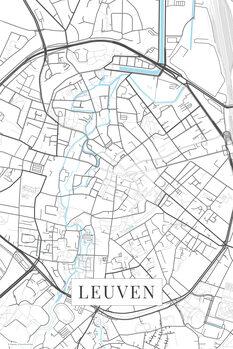 Kartta Leuven white