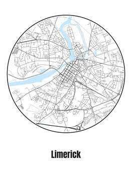Kartta Limerick
