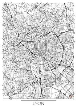 Kartta Lyon