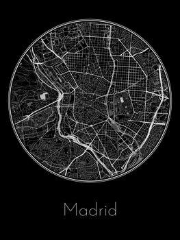 Kartta Madrid