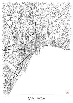 Kartta Malaga
