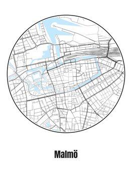 Kartta Malmö