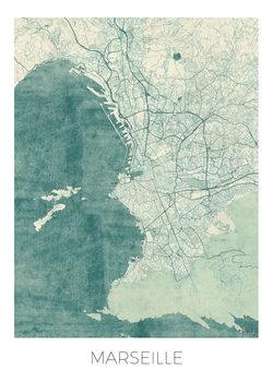 Kartta Marseille
