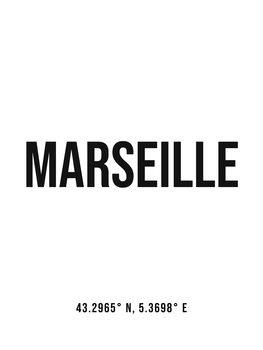 Kuva Marseille simple coordinates