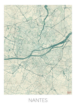 Kartta Nantes
