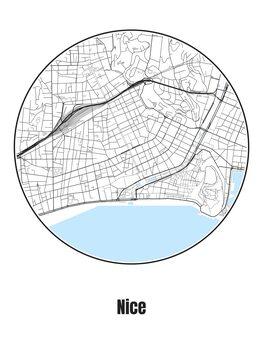 Kartta Nice